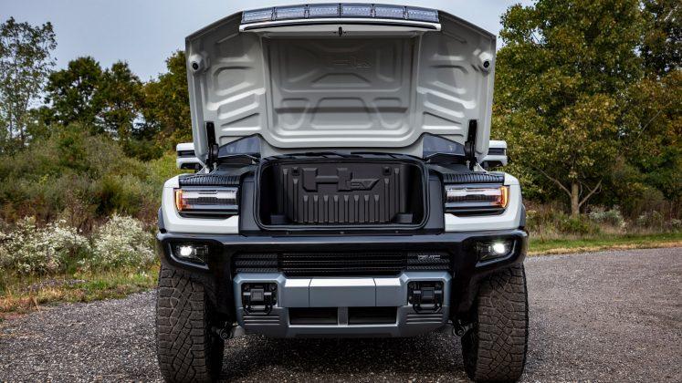 GMC Hummer EV front boot
