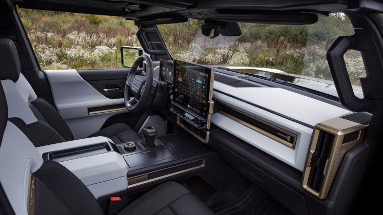 GMC Hummer EV seats
