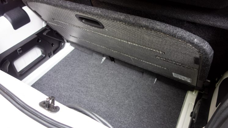 Seat Mii Electric boot space