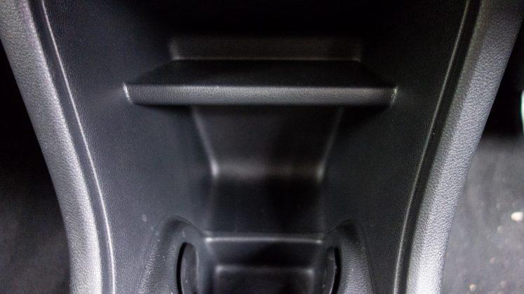 Seat Mii Electric compartment storage
