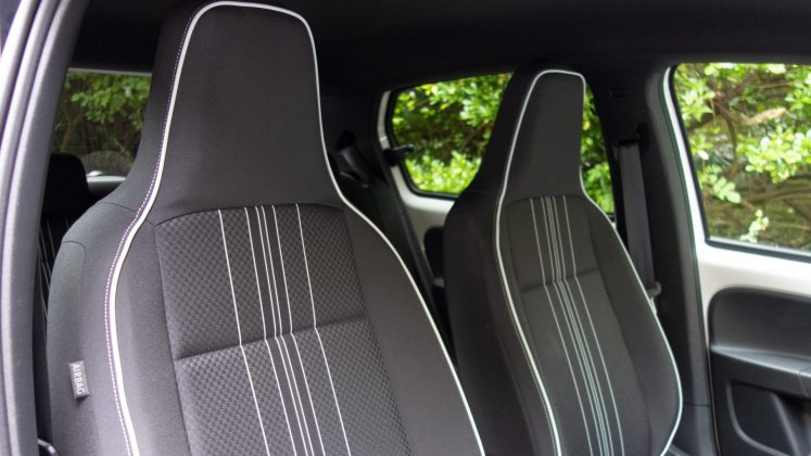 Seat Mii Electric front seats