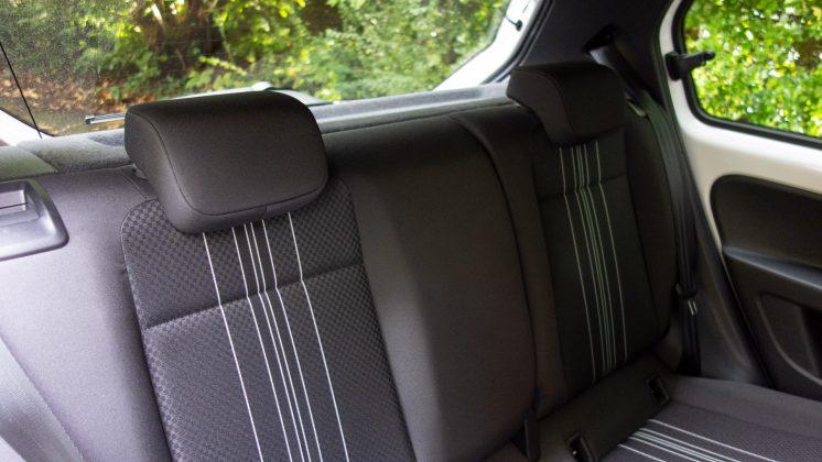 Seat Mii Electric rear seats