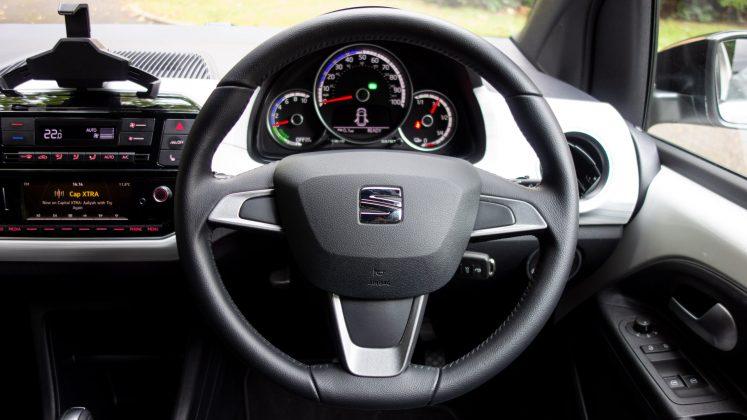 Seat Mii Electric steering wheel