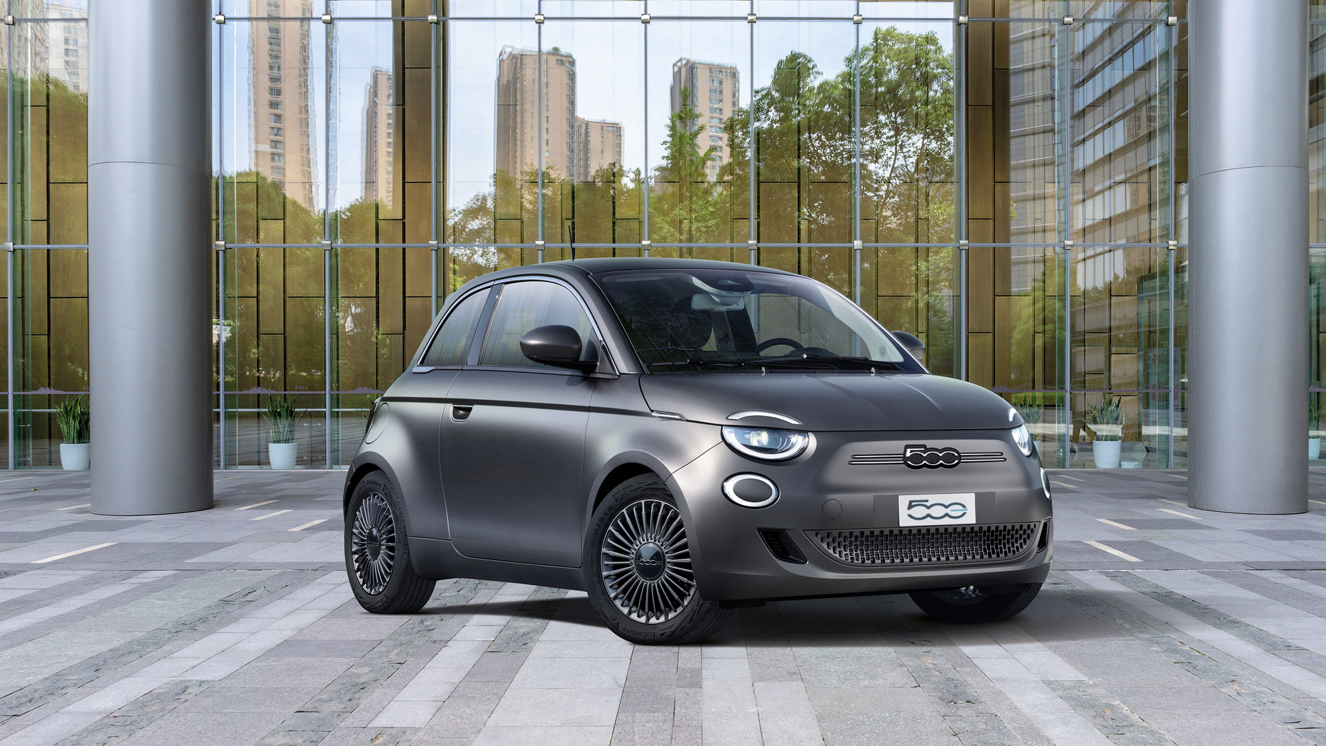 Fiat 500 Electric car design
