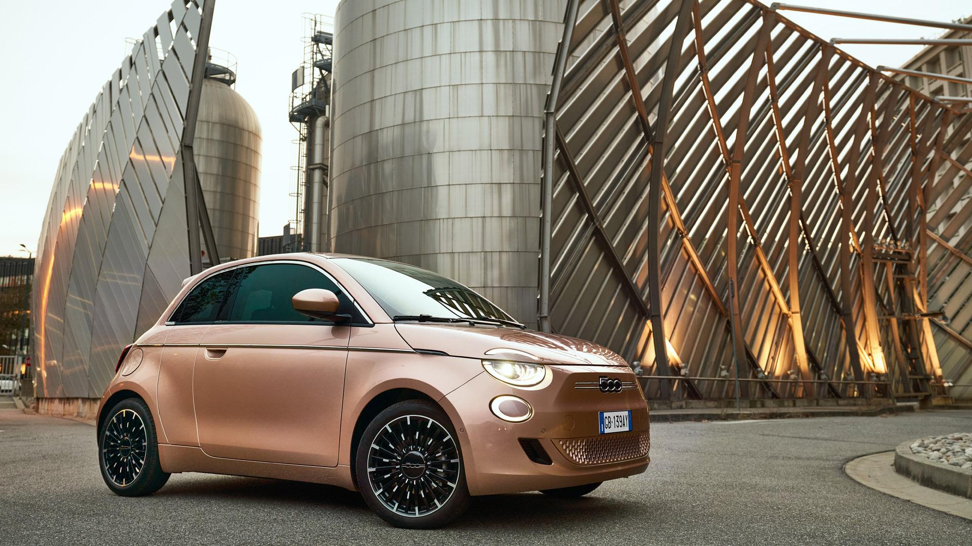 Fiat 500 Electric drive