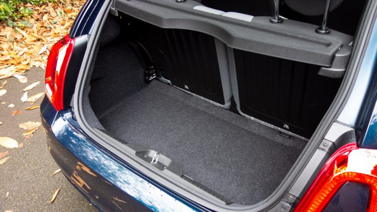 Fiat 500 Hybrid boot