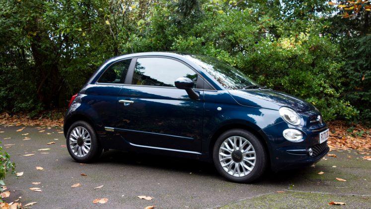 Fiat 500 Hybrid side