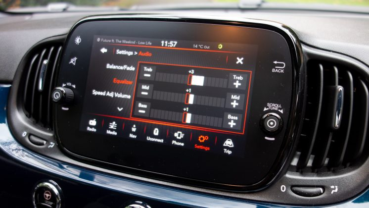 Fiat 500 Hybrid sound