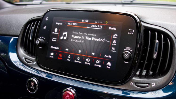 Fiat 500 Hybrid tech