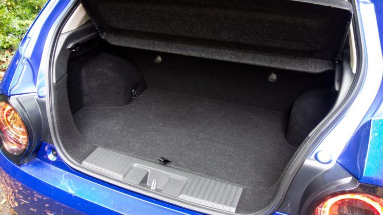 Honda e boot space