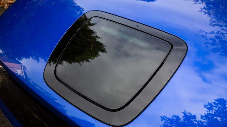 Honda e charging flap