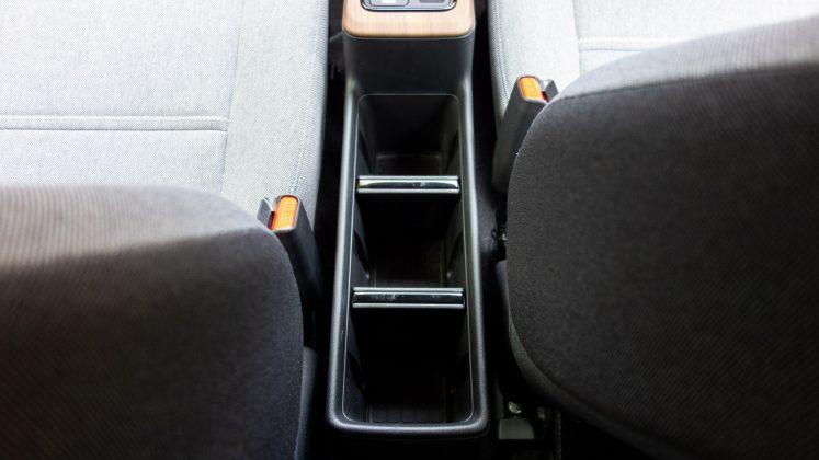 Honda e console storage