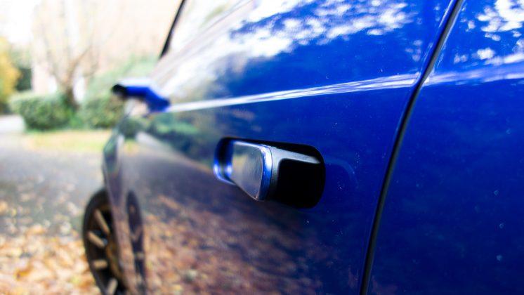 Honda e door handle