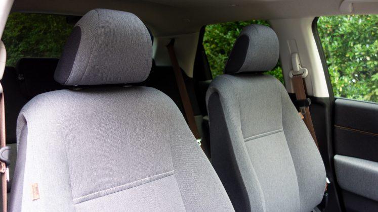 Honda e front seats