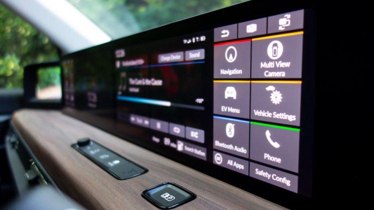 Honda e infotainment screens