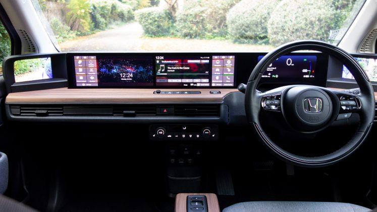 Honda e interior design