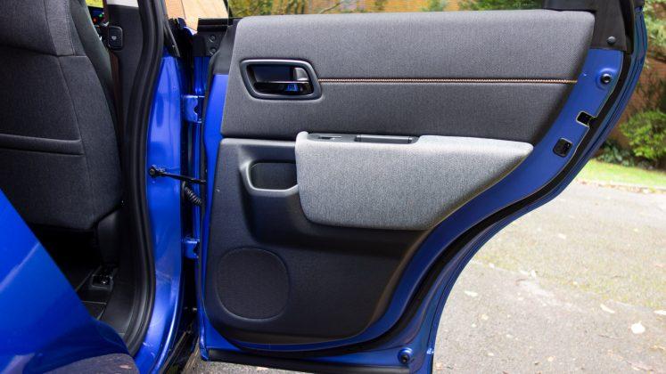 Honda e rear door