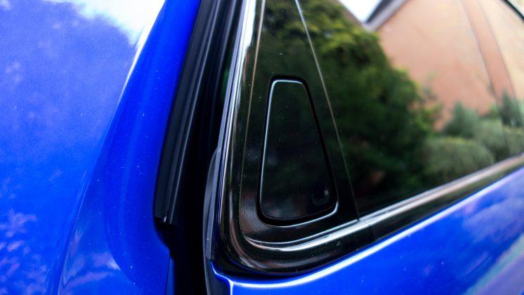 Honda e rear door handle