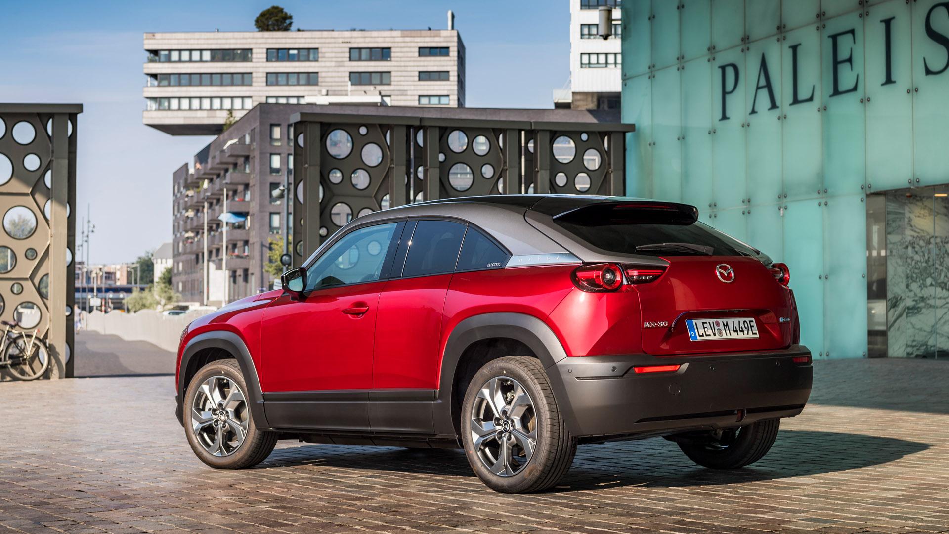 Mazda MX-30 red back