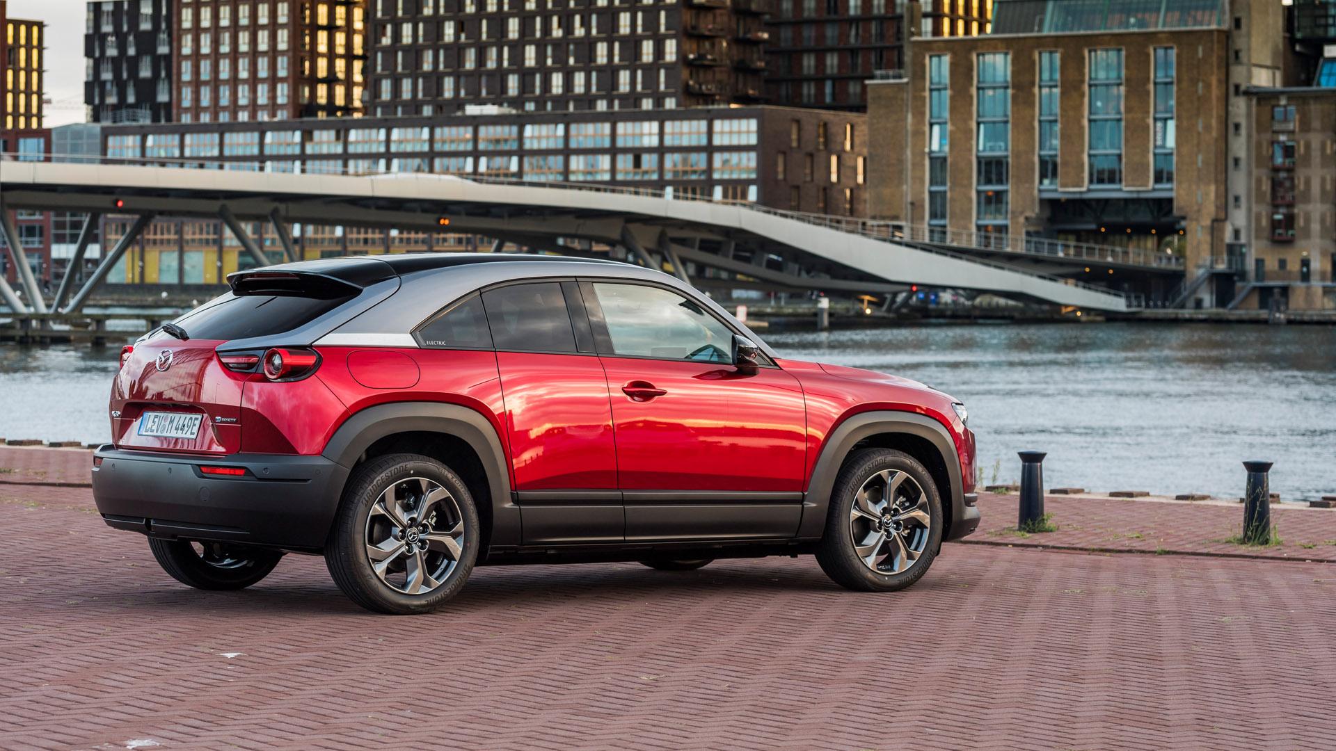 Mazda MX-30 red design