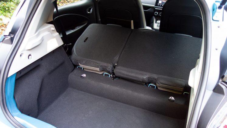Renault Zoe boot capacity