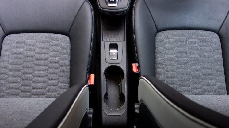 Renault Zoe centre console