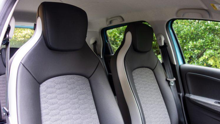 Renault Zoe front seats
