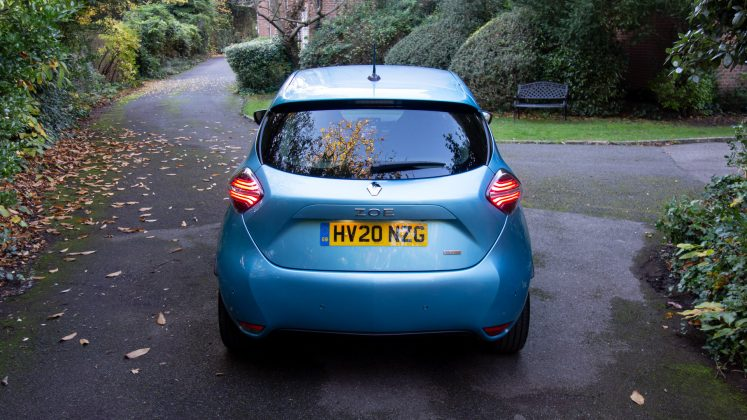 Renault Zoe rear design