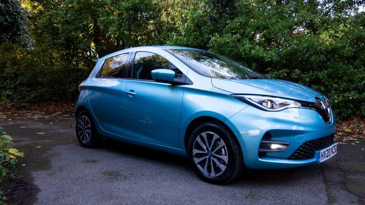 Renault Zoe side