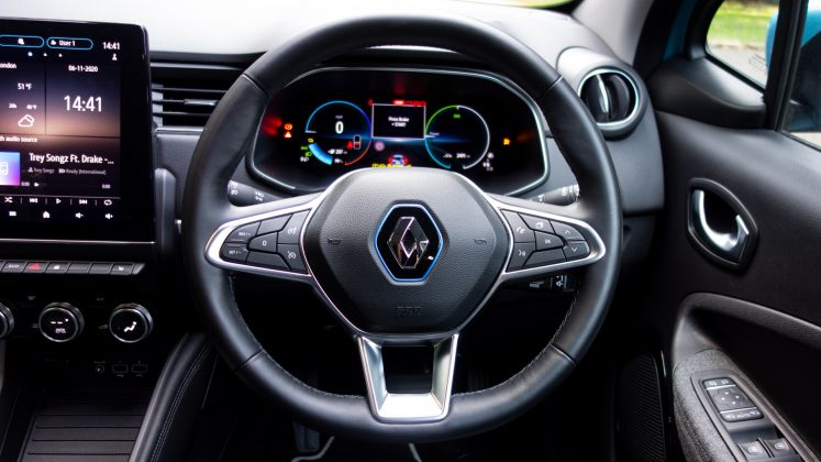 Renault Zoe steering wheel