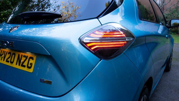Renault Zoe taillight