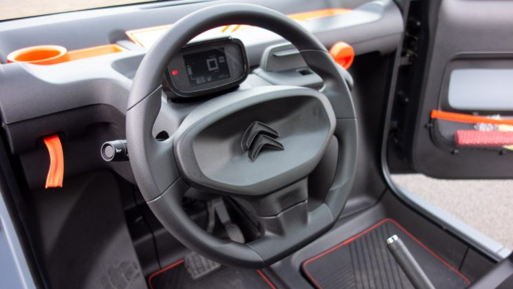 Citroen Ami steering wheel