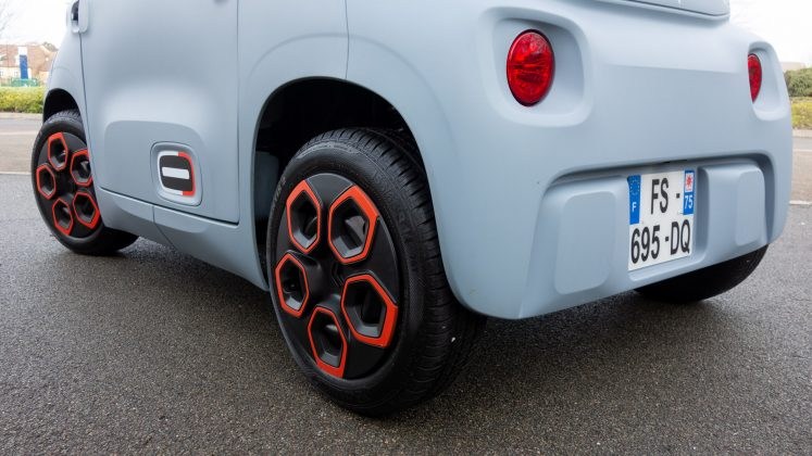 Citroen Ami wheels