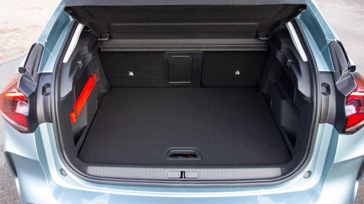 Citroen e-C4 rear boot