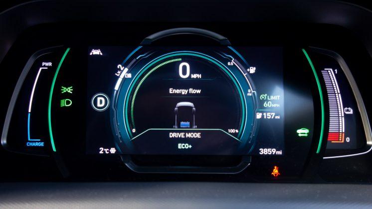 Hyundai Ioniq Electric Eco+ mode
