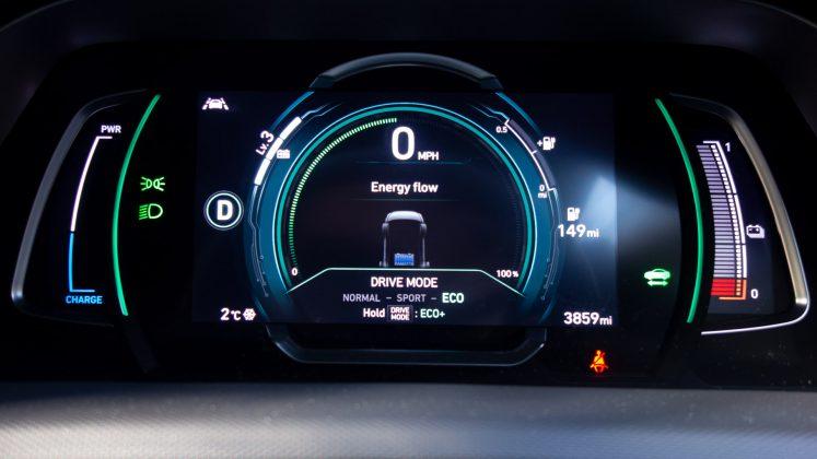 Hyundai Ioniq Electric Eco mode