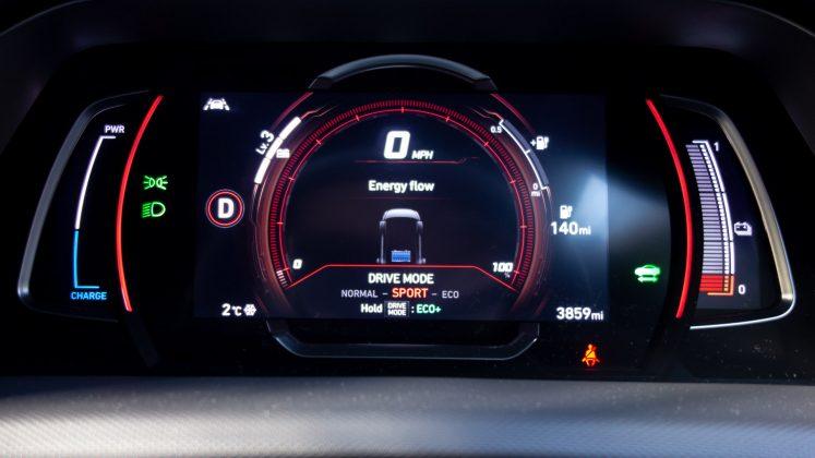Hyundai Ioniq Electric Sport mode