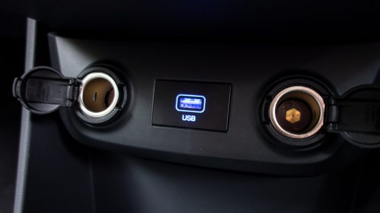 Hyundai Ioniq Electric USB
