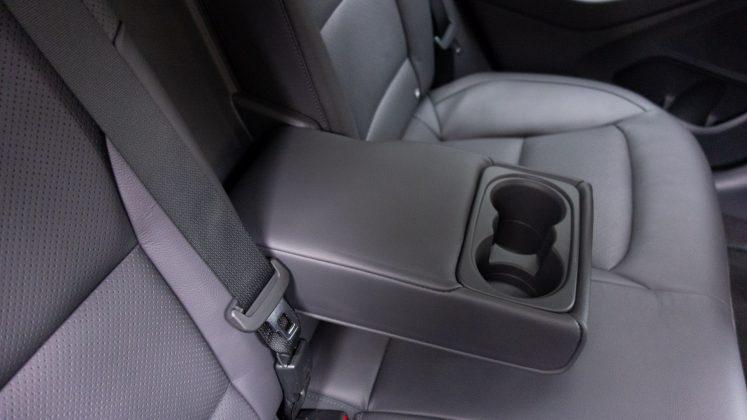 Hyundai Ioniq Electric armrest
