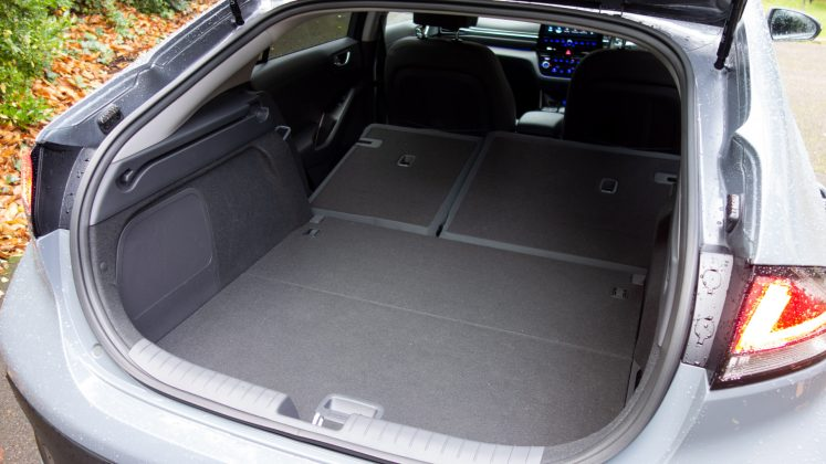 Hyundai Ioniq Electric boot space