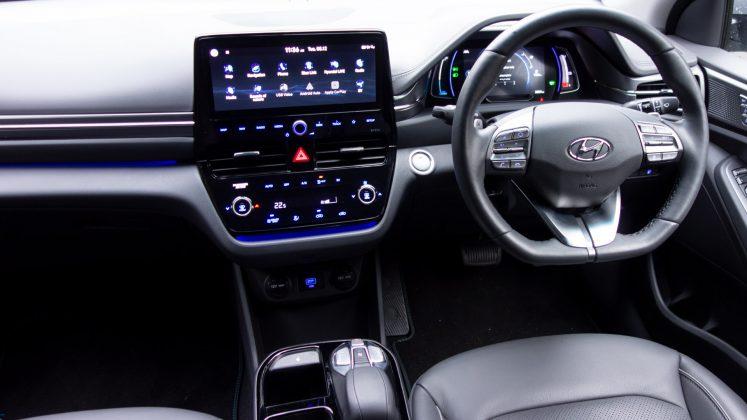 Hyundai Ioniq Electric cabin