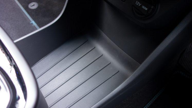 Hyundai Ioniq Electric cabin storage