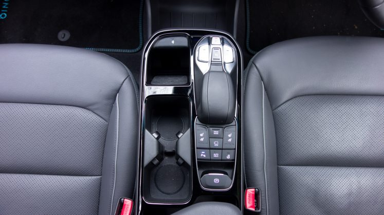 Hyundai Ioniq Electric centre console