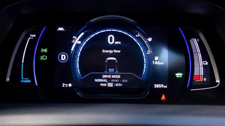 Hyundai Ioniq Electric comfort mode
