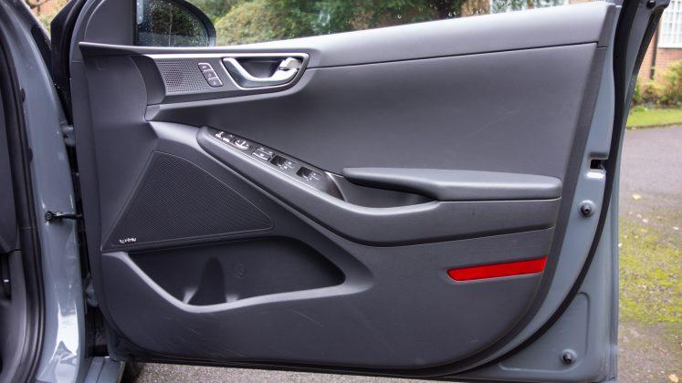 Hyundai Ioniq Electric front door