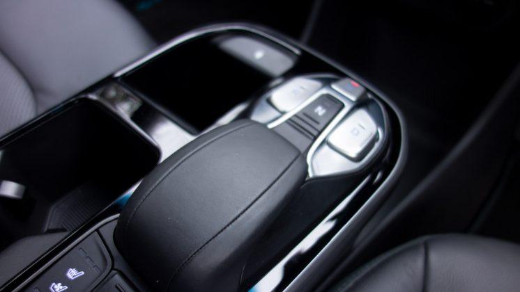 Hyundai Ioniq Electric gear selector
