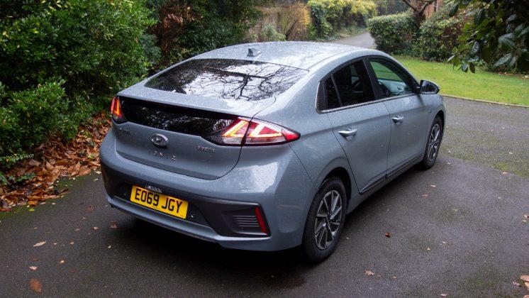 Hyundai Ioniq Electric rear