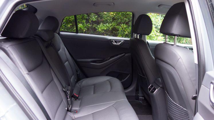 Hyundai Ioniq Electric rear cabin