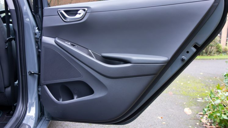 Hyundai Ioniq Electric rear door