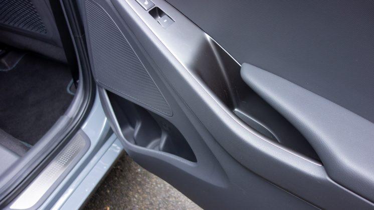 Hyundai Ioniq Electric rear door space